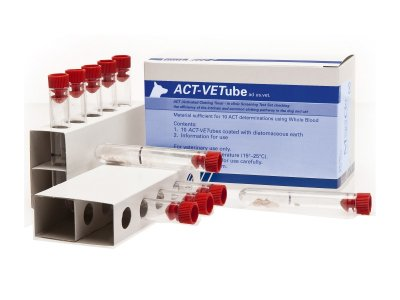 Nothing Thicker Than Blood – ACT-Vetube Gives Your Vet The Right Clotting Time